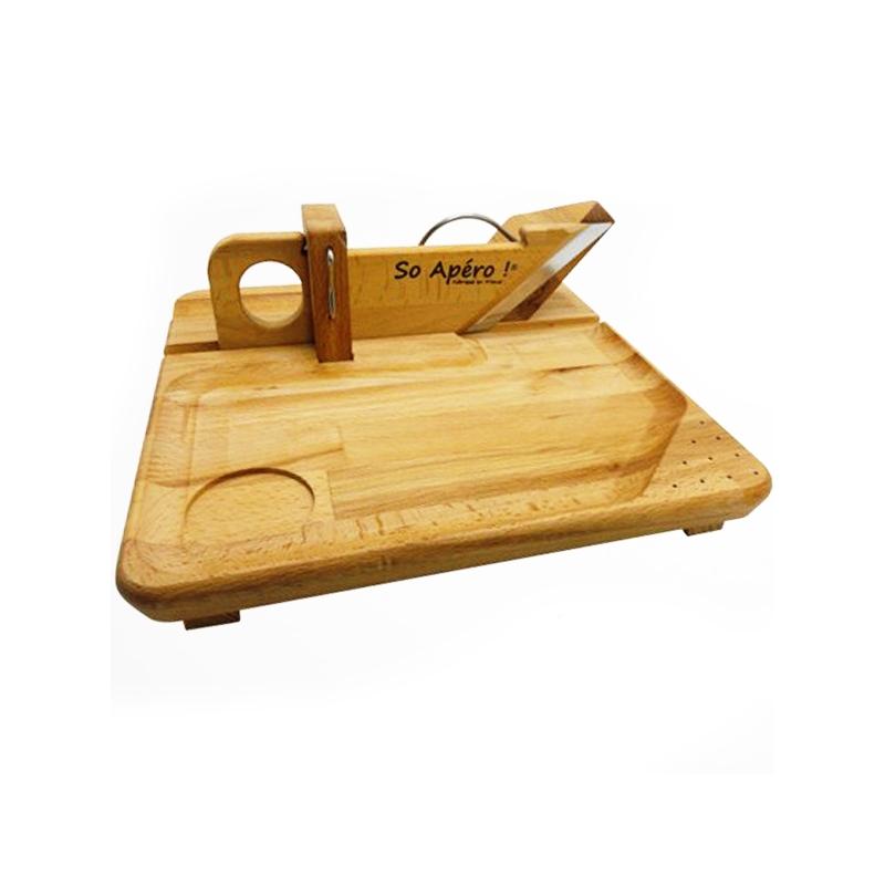 guillotine saucisson plateau en bois de h tre et. Black Bedroom Furniture Sets. Home Design Ideas