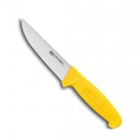 Couteau de boucher professionnel, lame 14 cm, HACCP