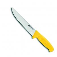 Couteau de boucher professionnel, lame inox 23 cm HACCP