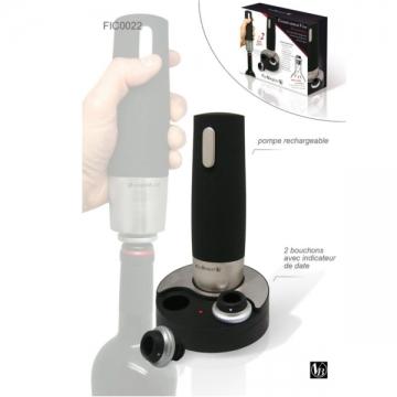 Pompe électrique conserve bouteille
