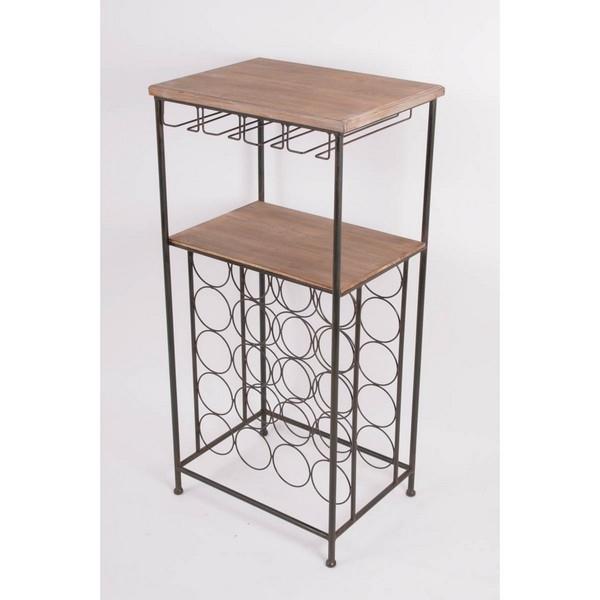 meuble de cave casier 20 bouteilles rack verres. Black Bedroom Furniture Sets. Home Design Ideas