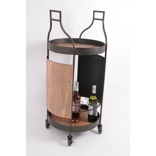 bar roulant pour bouteilles loading zoom with bar roulant de jardin. Black Bedroom Furniture Sets. Home Design Ideas