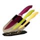 Bloc 3 couteaux cuisine colorés