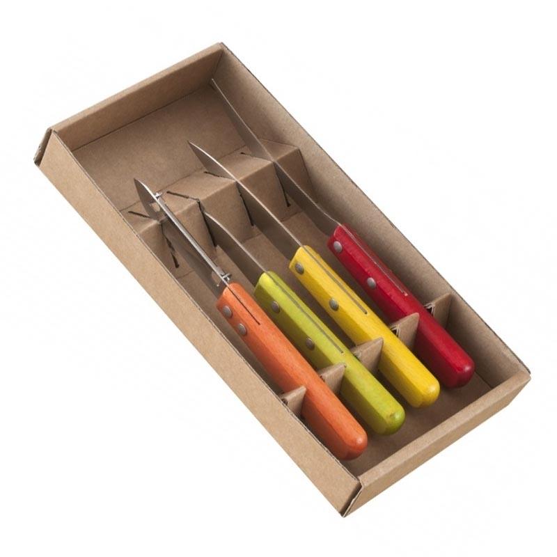 Pack de couteaux et ustensile de cuisine manche bois - Couteau de cuisine pradel ...