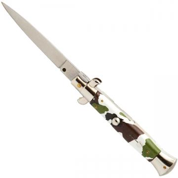 Couteau automatique 23 cm camouflage