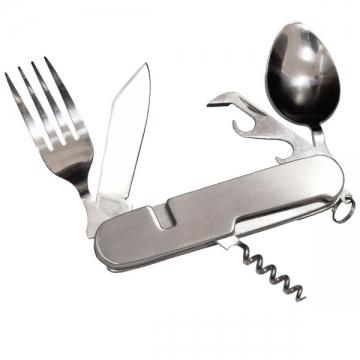 Couteau multifonctions avec couverts