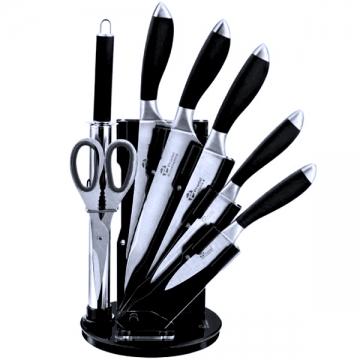 bloc ustensiles de cuisine pradel 5 couteaux 1 fusil 1 ciseaux. Black Bedroom Furniture Sets. Home Design Ideas