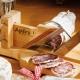 Guillotine à saucisson socle en bois