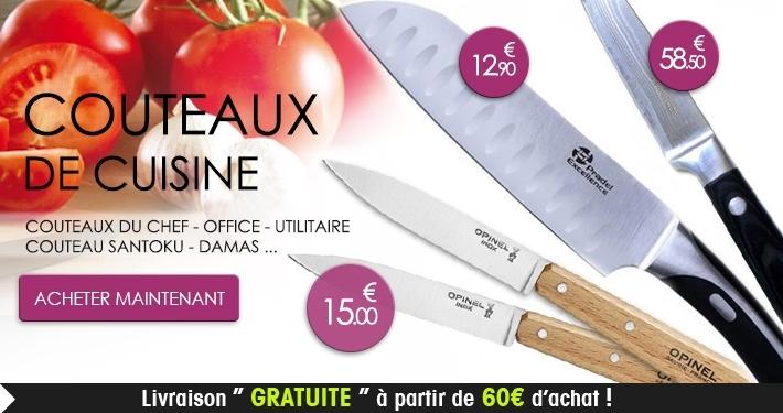 Couteaux de cuisine
