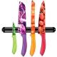 Couteaux à lames décorées inox barre aimantée