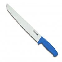 Couteau à poisson, lame crantée