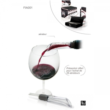 Aérateur verseur vin