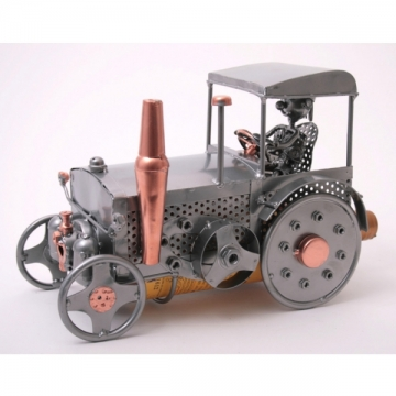 Porte bouteille métal tracteur cabine