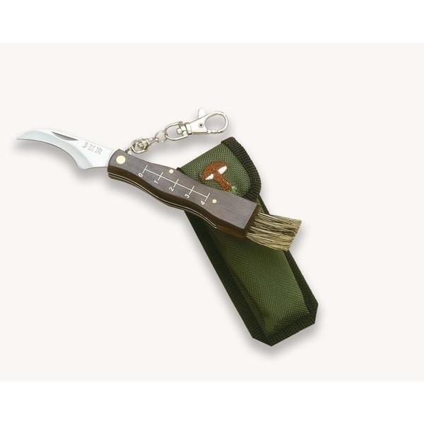 Couteau à champignons lame et brosse